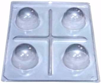 forma de silicone para brigadeiro - 3 formas /