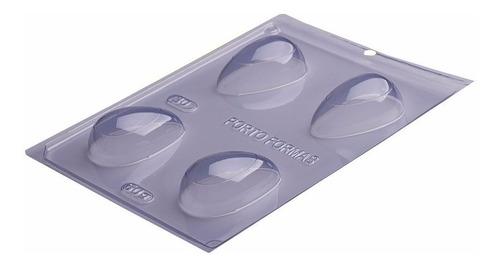 forma de silicone para chocolate e brigadeiro - 5 formas