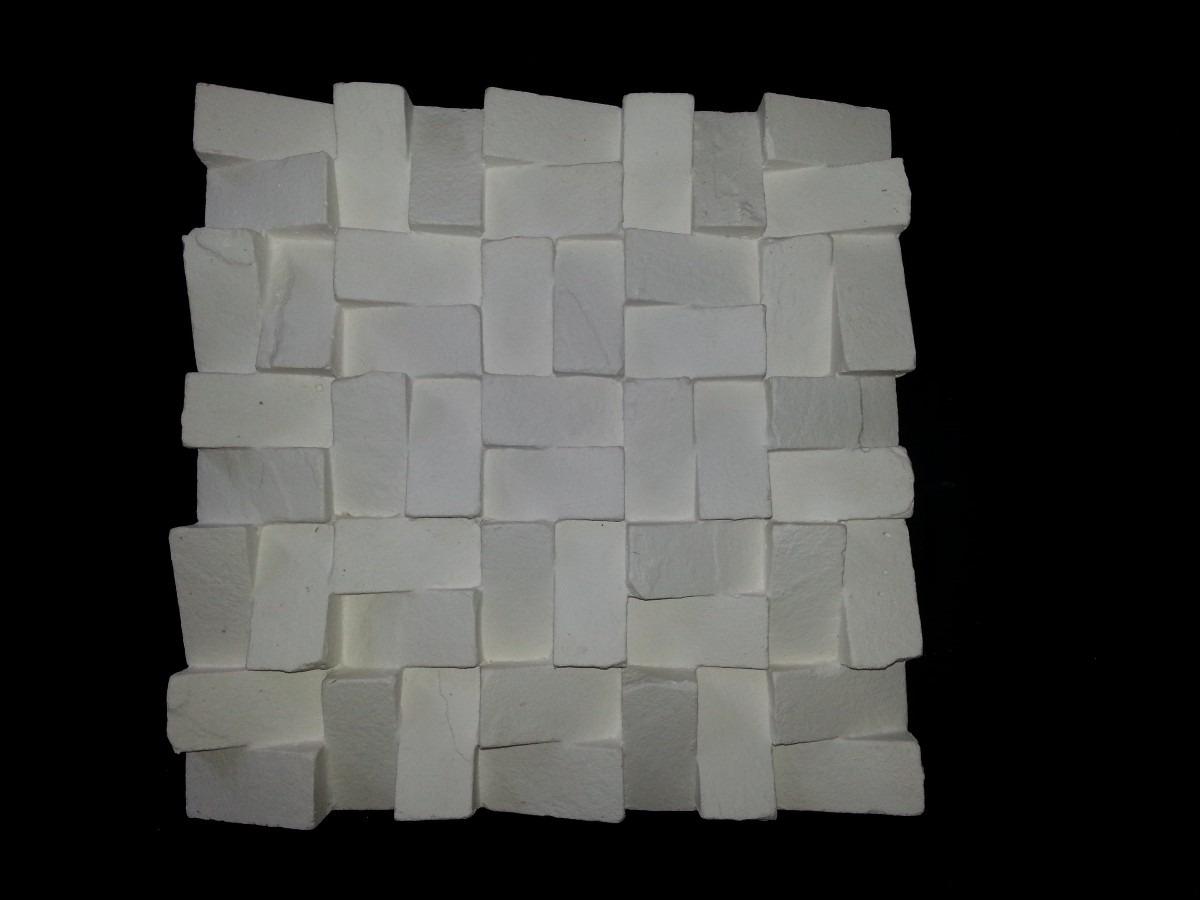 Forma de silicone para placa de gesso pir mide invertida r 399 99 em mercado livre - Placas decorativas para pared interior ...
