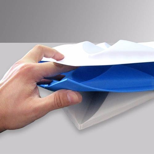forma gesso 3d - ref.33  - 39x39 cm plástico + eva