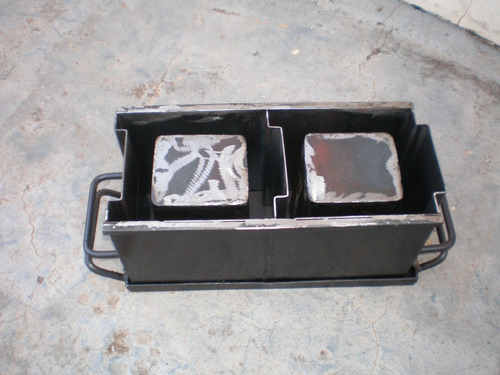 forma manual para fazer blocos de concreto