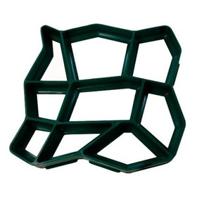 Forma Molde Piso Calçada Jardim C/manual 50x50x4 Diagonal