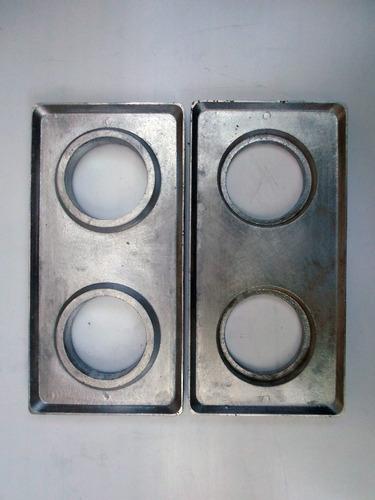 forma molde tijolo ecologico solo cimento 12,5 /25 cm  1 par