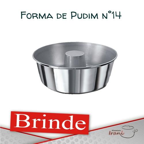 forma para bolo torta 10 cm em alumínio kit 5 pçs + brinde