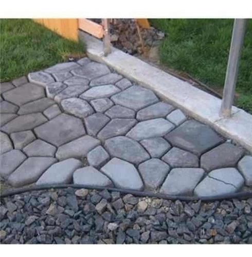 forma para jardim/ com manual!