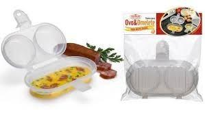 forma para ovo e omelete de microondas
