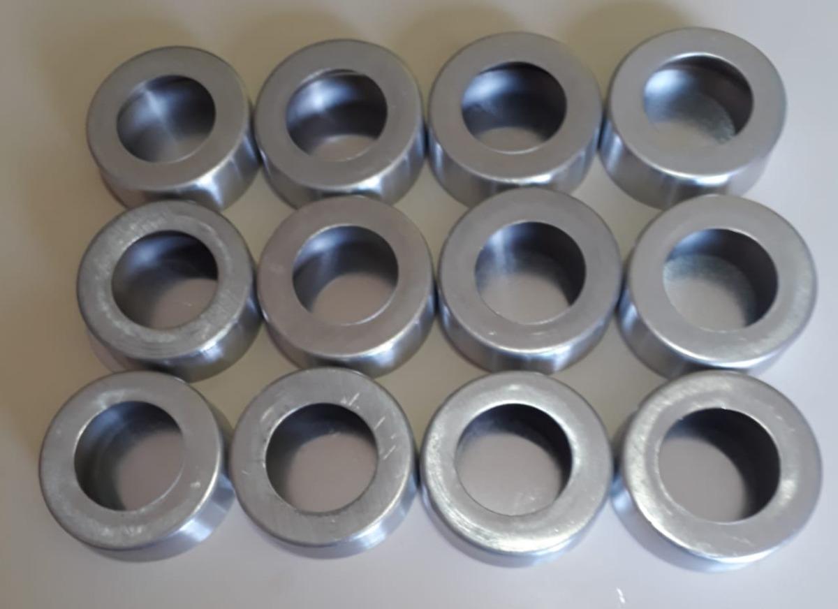 dea976091d Forma Para Pao De Mel Em Aluminio Fundo Falso Com 12 Unid
