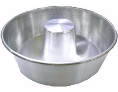 forma para pudim / torta suissa 20x8cm aluminio - kit  3 pçs