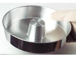 forma para pudim  / torta suissa 26x6cm aluminio kit 2 peças