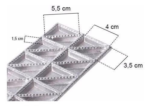 forma para ravioli tortéi massas  aluminio 20 cavidades