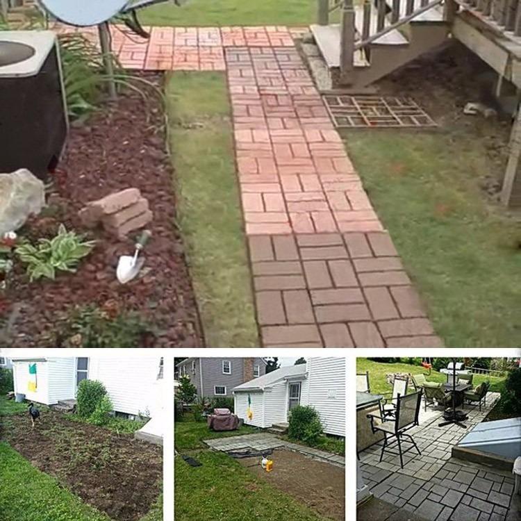 pedras para jardim mercado livre : pedras para jardim mercado livre: Piso Jardim – Uso Concreto – Aluminio – R$ 109,50 em Mercado Livre