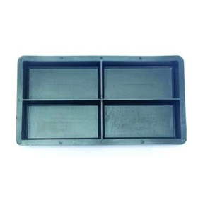 Forma Plástica Peyver 20x10x6cm - Geminada 4 Pedras - Fp114