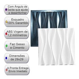 Forma Pra Gesso 3d E Cimento Abs 1,2mm Fdg22 Dunas 29x29