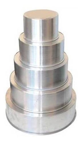 forma redonda alta conjunto com 5 peças-10cm de altura