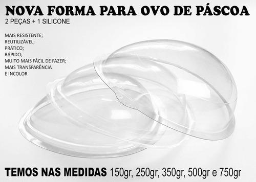 forma silicone p/ ovo de pascoa 250 kits p/ revenda