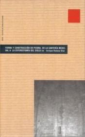 forma y construcción en piedra(libro urbanismo)