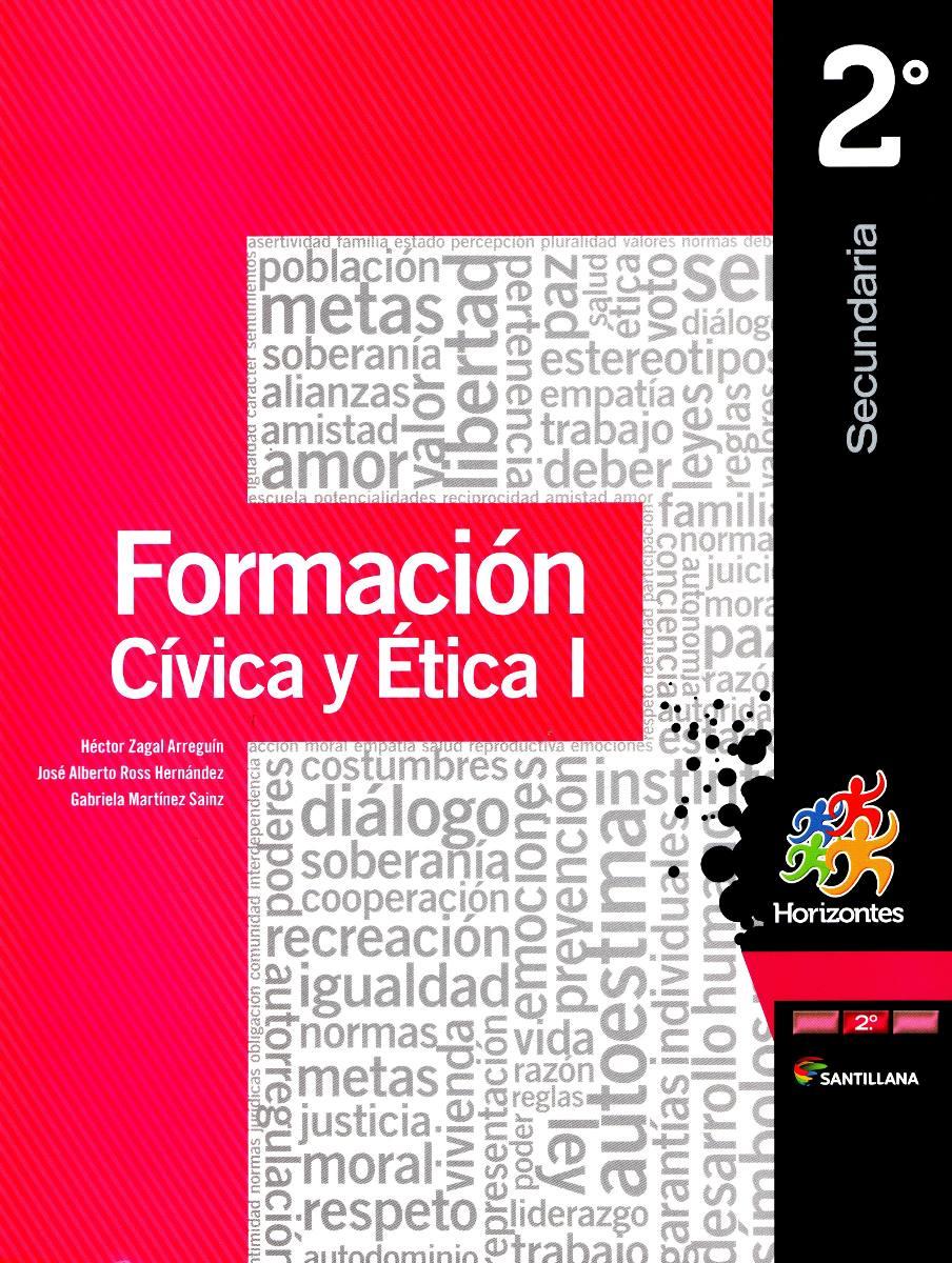 Formacion civica y etica 1 p 2do horizontes zagal santil 395 00 en mercado libre