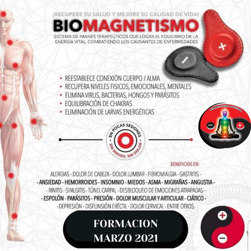 formación profesional de biomagnetismo integral