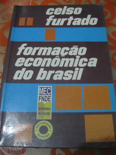 formação econômica do brasil celso furtado livro