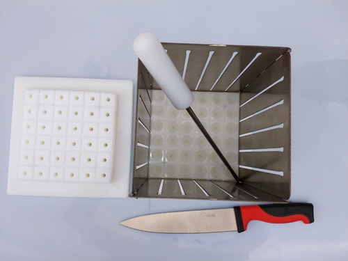 formadora profissional 36 espeto inox  faca  furador gratis