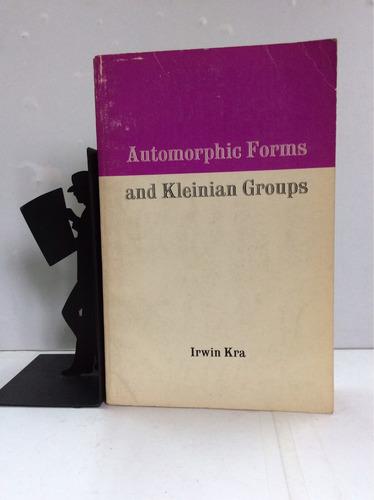 formas automorfas y grupos kleinianos irwin kra (en inglés)