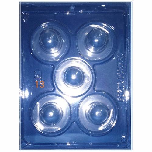 formas de acetato 10 unidades bombons trufas e corações