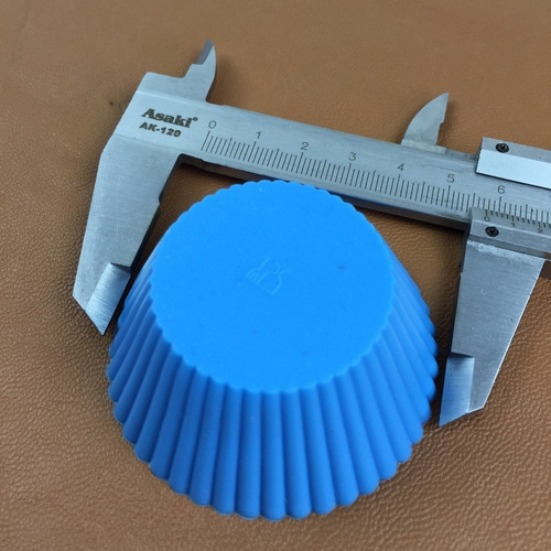 formas de cupcake de silicone coloridas importadas pronta en