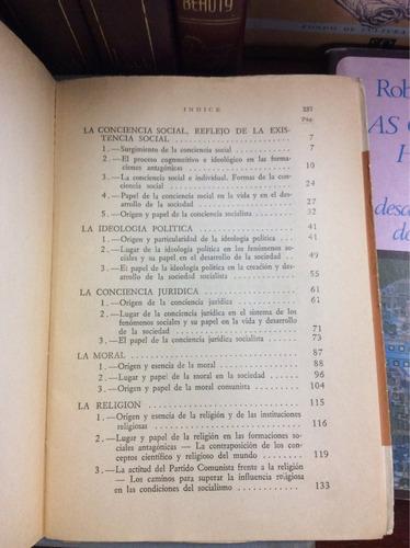formas de la conciencia social, v. kelle m. kovalzon