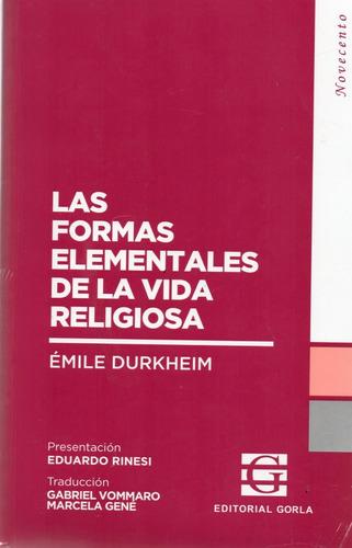 formas elementales de la vida religiosa emile durkheim (go)