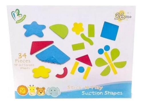 formas para bebe juego didactico sopapa para ducha 34 piezas