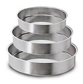 formas redondas altas conjunto com  3 peças-10cm de altura