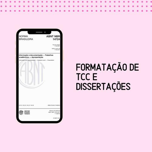 formatação de tcc e dissertação