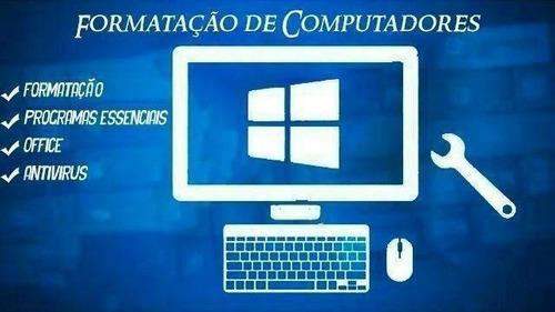 formatação e serviços de informática online