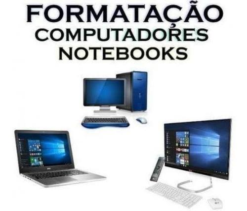 formatação / manutenção de computadores e notebooks