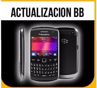 formateo blackberry actualización revisión software