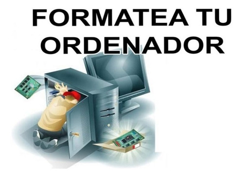 formateo de computadores de escritorio y laptop