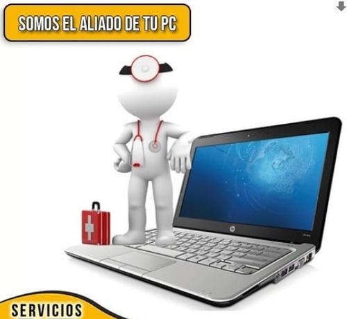 formateo laptop pc computadora servicio tecnico en chacao