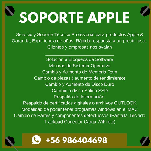 formateo mac apple ipad imac macbook macbook air