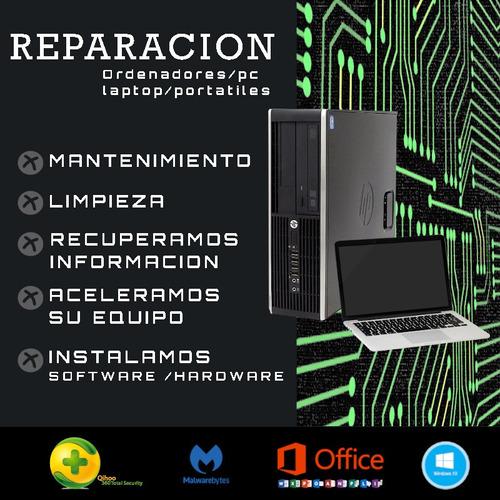 formateo mantenimiento y reparación de pc/computadoras-lptop