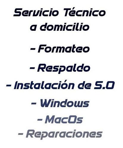 formateo, respaldo, recuperación de datos, windows, macos