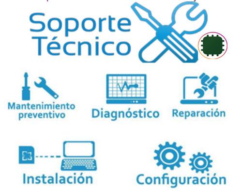 formateo, soporte y servicio técnico pc, laptop, table.