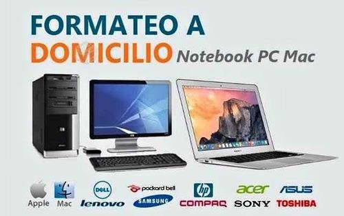 formateo y mantencion windows y macbook