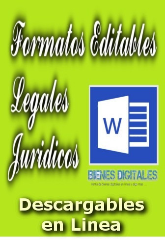 formatos editables documentos juridicos legales x documento