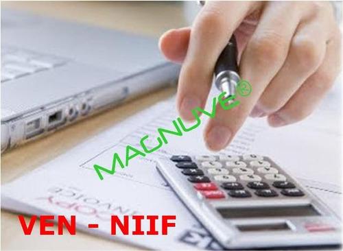 formatos elaborar estados financieros para el rnc ven-niif