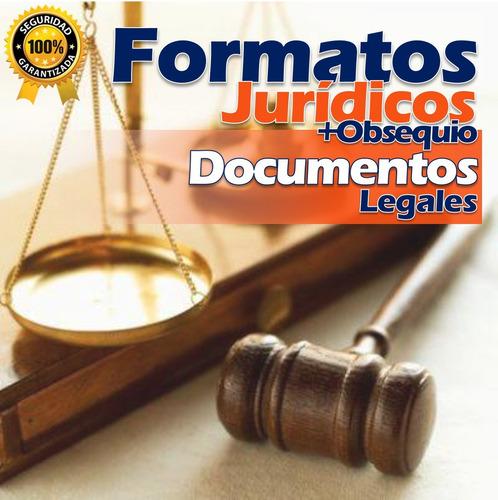 formatos jurídicos documentos legales completos