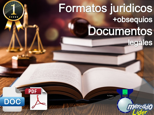 formatos jurídicos documentos legales completos + bonos