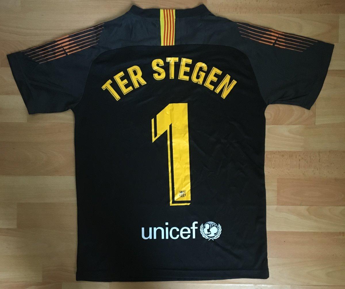 0e918f0c2 formidable jersey barcelona portero ne 2019 niño ter stegen. Cargando zoom.