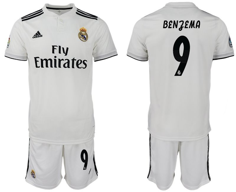 7acfec4d13f96 formidable jersey real madrid blanco local 2019 benzema 9. Cargando zoom.