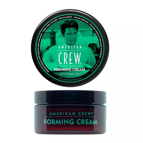 forming cream crema fijacion brillo medio 85gr american crew