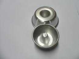 forminha mini pudim nº 0 kit com 24 pçs aluminio